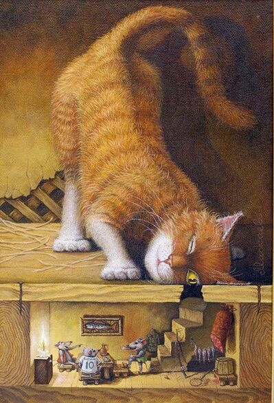 Kitteh art ##catartwork #catillustrations #cats