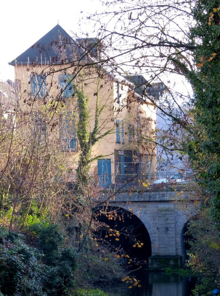 Le moulin Passe-Avant en travaux