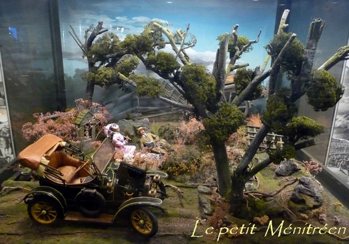Musée de l'automobile de Lohéac (les maquettes)