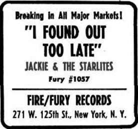 Jackie & The Starlites (3)