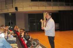 Les élèves découvrent  l'Orchestre de Bretagne
