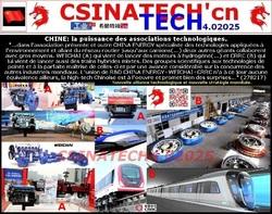 CHINE: la puissance des associations technologiques.