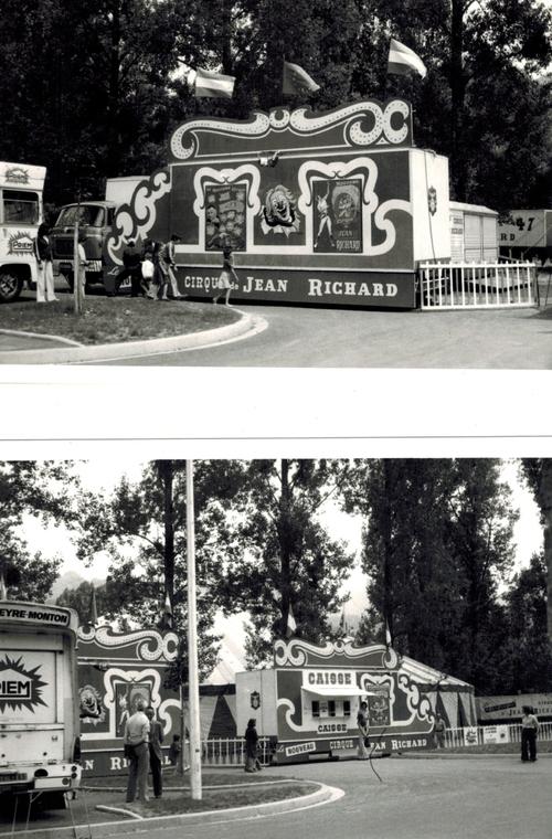 Le Nouveau Cirque de Jean Richard dans sa première version en 1976