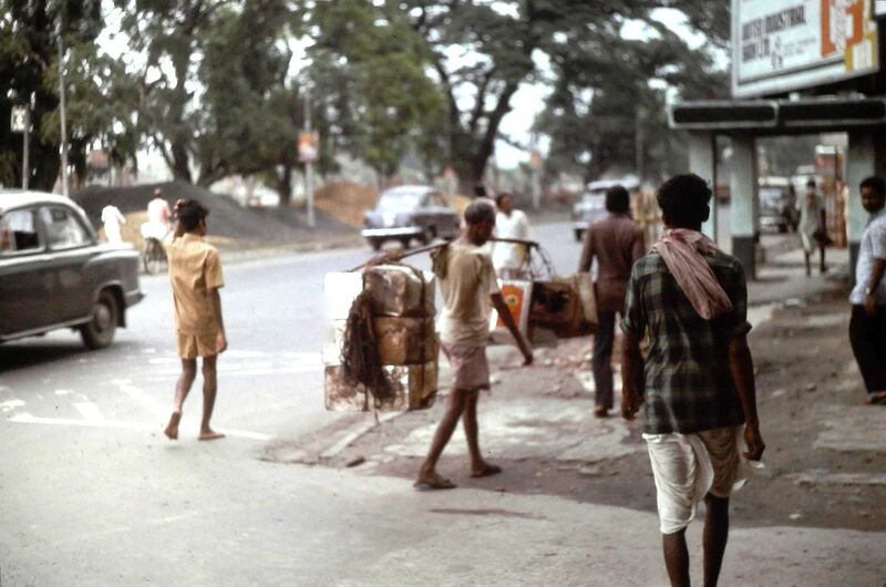 SUITE DES PHOTOS SUR CALCUTTA EN 1978 N° 3
