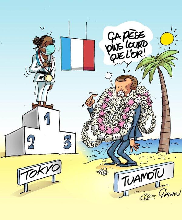 Rions des Jeux Olympiques et des vacances...un peu gâchées par le covid Delta...