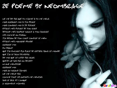 poeme 2 by neombrage