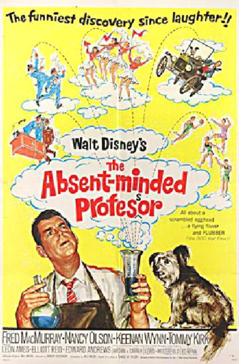 THE ABSENT MINDED PROFESOR BOX OFFICE USA 1967