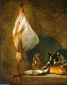 Jean%20Siméon%20Chardin%20-%20Still-Life%20with%20Cat%20an
