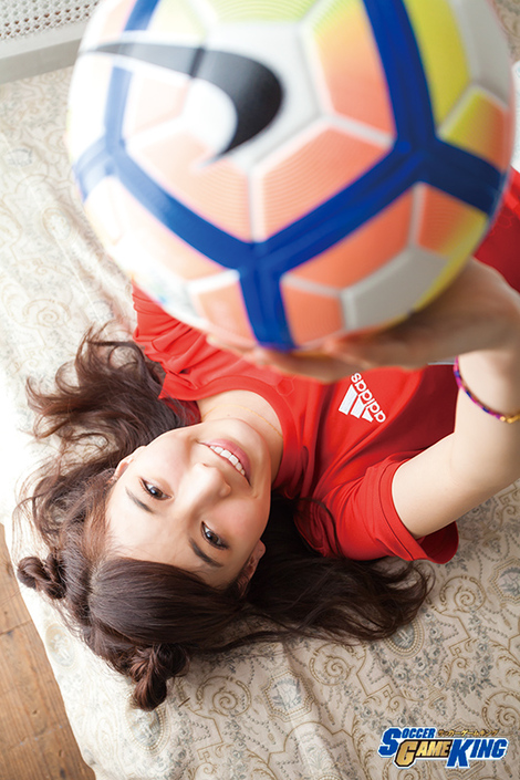 WEB Magazine : ( [SOCCER GAME KING ( COVER GIRL MODEL )] - 2017 / Vol.65 : Honoka )