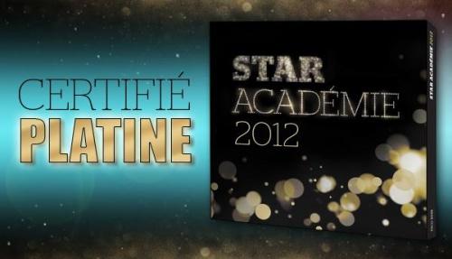 Disque Star académie - Certifié Disque Platine
