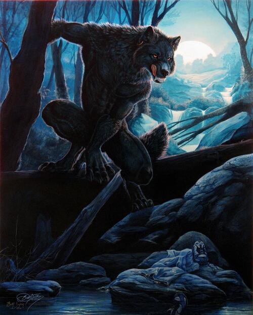 Les loups-garous ( suite )