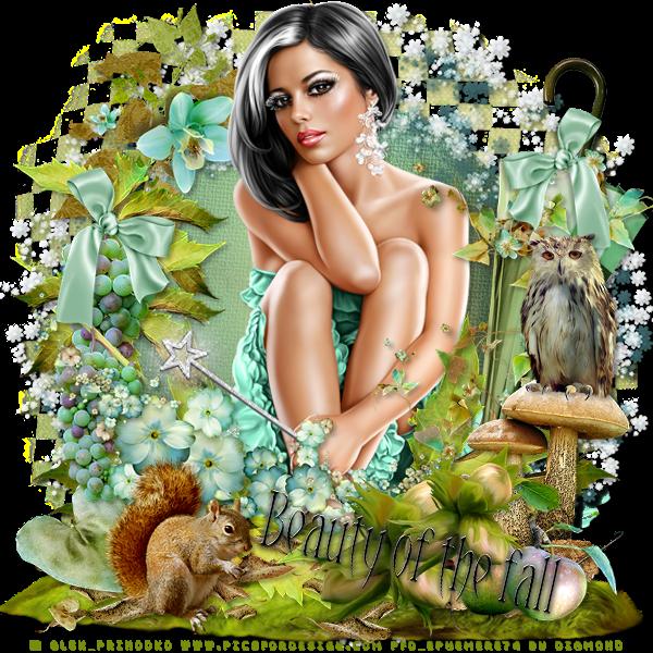 """Tutoriel """"Beauty of the Fall"""" de Clairette design"""