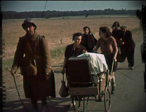 exode en France pendant la deuxieme guerre mondiale