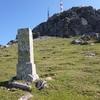 Borne frontière numéro 24 (840 m), à Gaztelu-chourico-malda