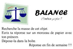 Balance de Roberval