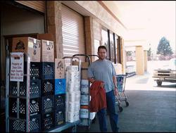 """• 2005 • Sur la Réserve avec Richard et Jean-François - """"Programmes Humanitaires"""" !"""