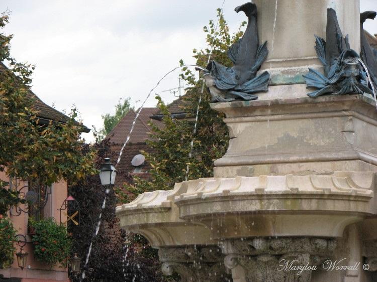 Jeux d'eau colmariens : Fontaine Roesselmann