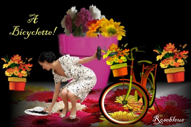 A Bicyclette..