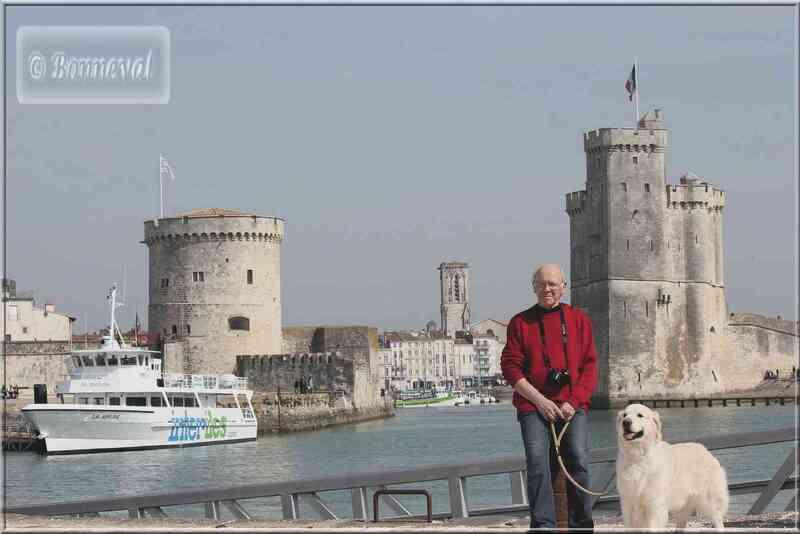 La Rochelle Le Vieux Port vu du Gabut