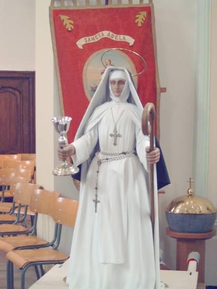 Sainte Adèle, moniale à Orp-le-Grand dans le Brabant wallon en Belgique († 670)