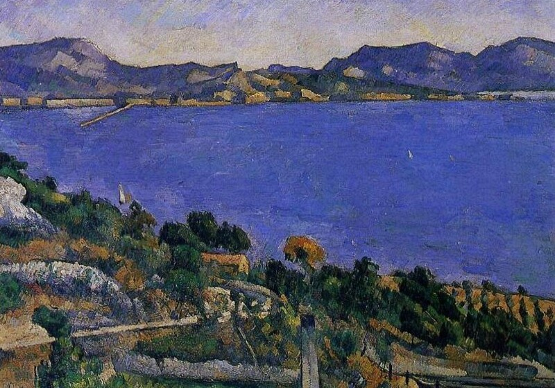 Cézanne 8 /        1870:l'Estaque
