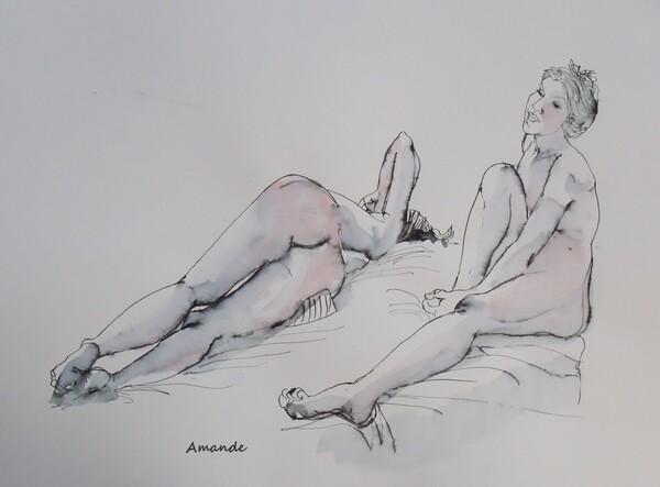 Vendredi - Deux poses