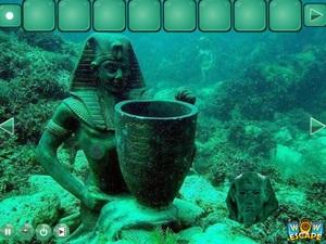 Jouer à Egyptian underwater world escape