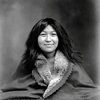 A native woman. Alaska. 1907. Photo by Case & Draper. Source - Alaska State Library