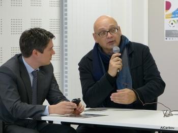 Mickaël Vallet et Daniel Thériault