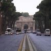 L'Arc de Constantin à coté du Forum