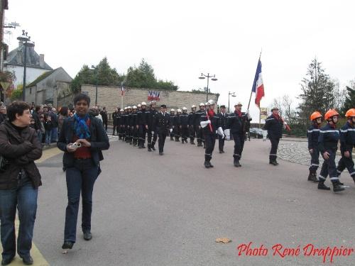 La crémonie du 11 novembre 2011 à Châtillon sur Seine