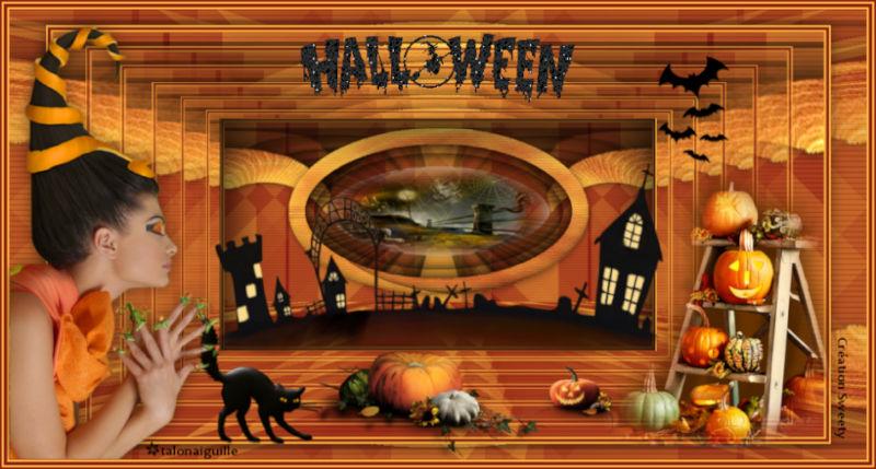 """*** tuto 128 """"Halloween""""  ***"""