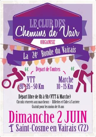 """La """"Ronde du Vairais"""" passe par Bellou !"""