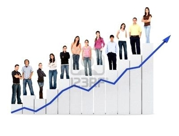 2602065-group-of-casual-people-with-a-chart-representing-growth-and-success--isolated-over-a-white-b