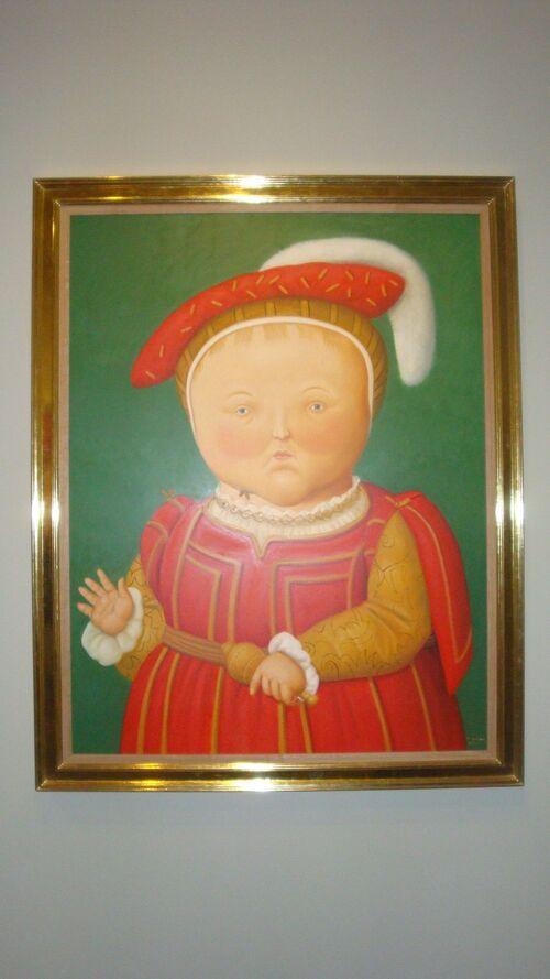 Botero dialogue avec Picasso...........