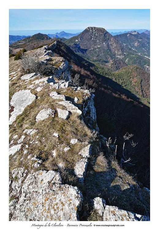 Montagne de la Clavelière au coeur des Baronnies Provençales