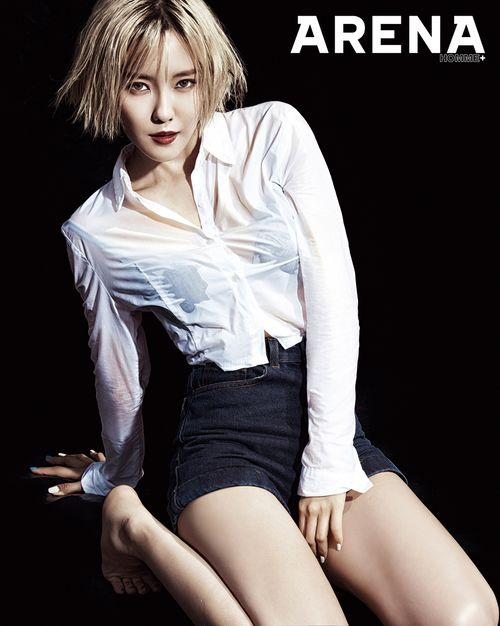 Hyomin pour Arena Homme +