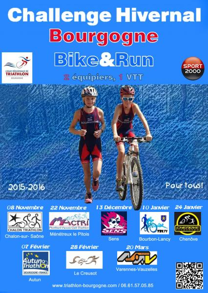 challenge bike and run 2015/2016