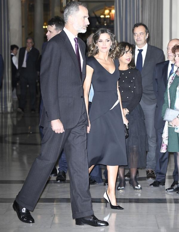 Felipe et Letizia le 22 octobre