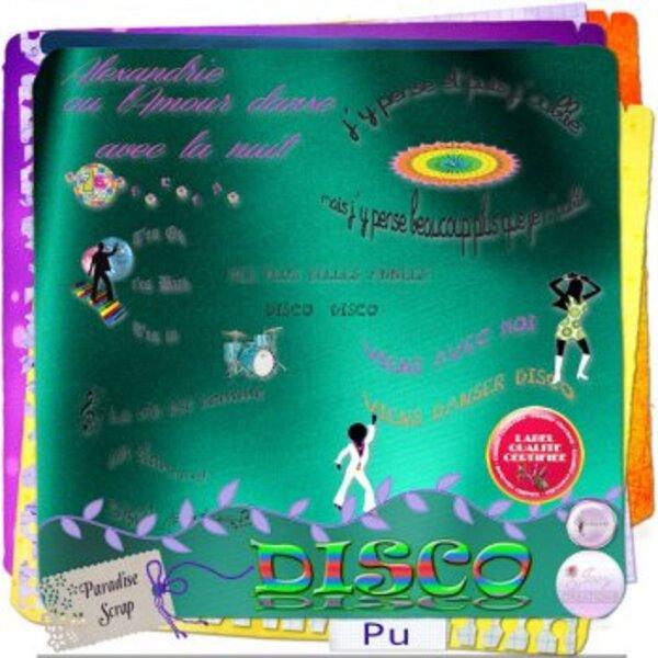 Kit Disco une collaboration de Josycréations et Trésors de baby