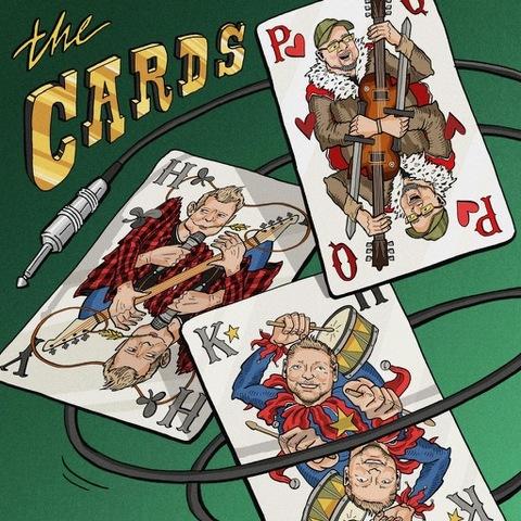 THE CARDS (avec Paul Quinn de SAXON) - Les détails du premier album The Cards