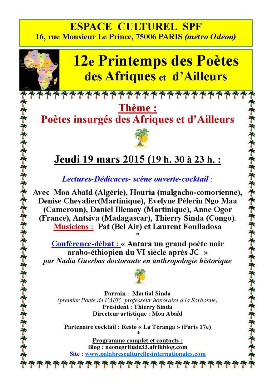 Manifestation francophone