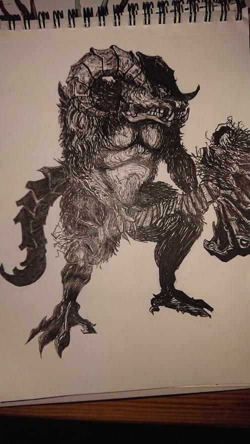 Démon Taurus - Dark Souls