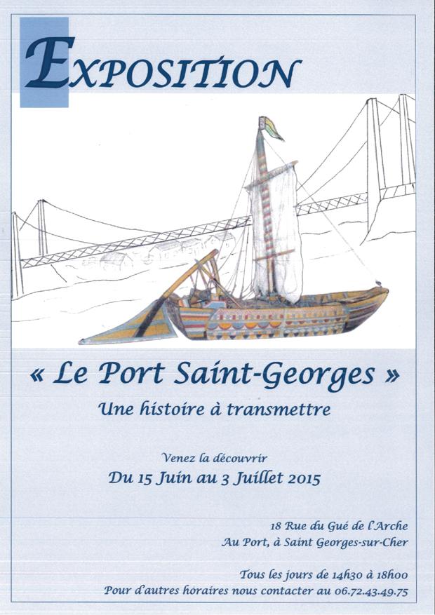 affice de l'exposition St Georges