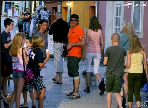 les bonjovi en famille en croatie