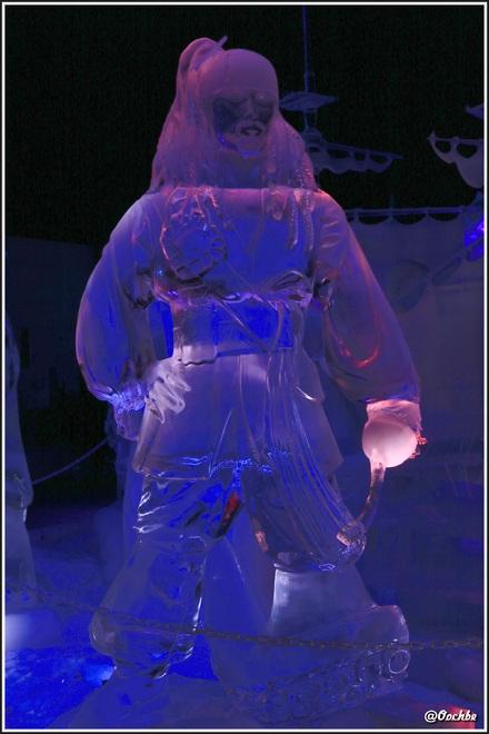 Sculptures de glaces