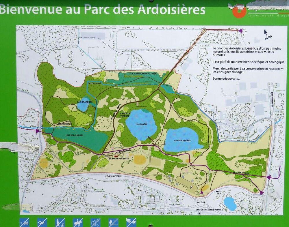 le parc des ardoisières - Angers