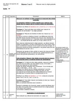 CE1 - Mesurer des segments et des distances