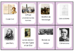 Révisons les connaissances d'histoire grâce au jeu du CE2 au CM2!