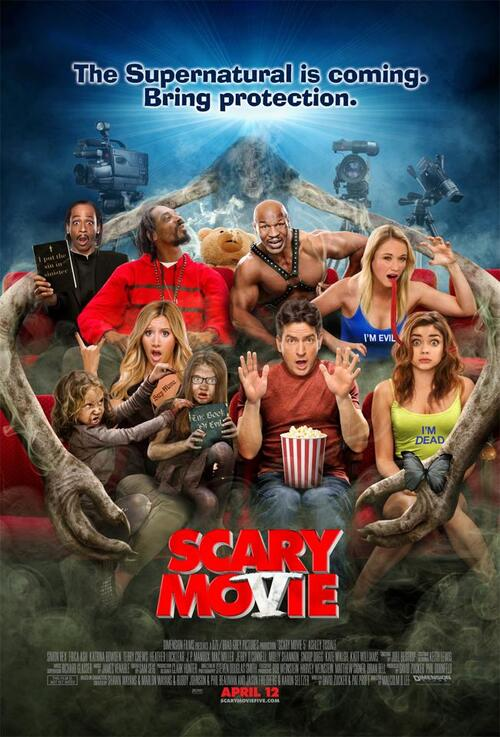 "Bonsoir a l'honneur : "" Scary movie V """